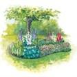 База отдыха Лукоморье - иконка «сад» в Копьево